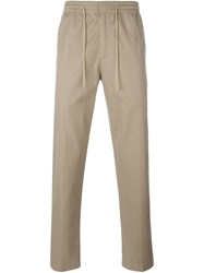 Folk Drawstring Trousers Nude And Neutrals