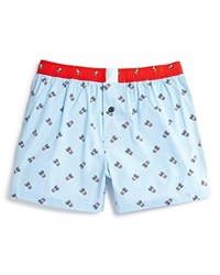 Psycho Bunny Woven Boxers Blue Bell Colorblock