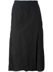 Army Of Me Apron Cropped Trousers Black