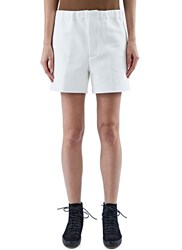 Marni Structured Bermuda Shorts White