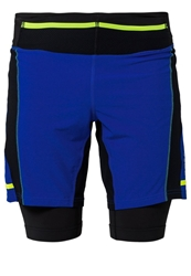 Gore Running Wear Xrunning 2.0 Sports Shorts Black Brilliant Blue