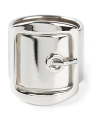 Givenchy Buckle Ring Metallic