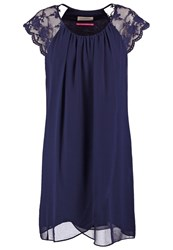 Naf Naf Summer Dress Bleu Marine Dark Blue