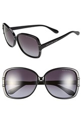 Women's Marc By Marc Jacobs 59Mm Ombre Oversized Sunglasses Black
