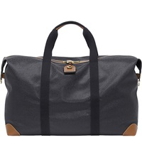 Mulberry Large Clipper Holdall Black Cognac