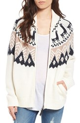 Women's Bp. Fair Isle Knit Cardigan