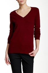 J.Crew Factory Colorblock V Neck Sweater Multi