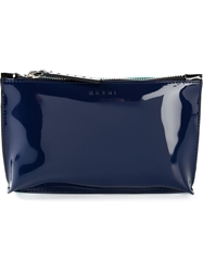 Marni Varnished Make Up Bag Blue