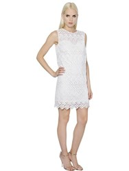 Ermanno Scervino Lace And Macrame Dress