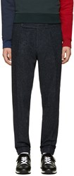 Carven Navy Cropped Trousers