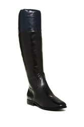 Jack Rogers Mercer Two Tone Riding Boot Black