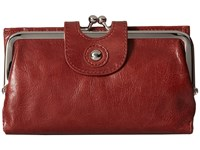 Hobo Alice Mahogany Wallet Handbags