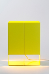 Lt02 Seam Two Lamp Yellow Project No. 8