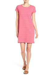 Vineyard Vines Women's 'Whale Tail' Graphic Shirtdress Rhododendron