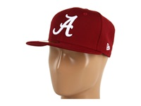 New Era Alabama Crimson Tide Ncaa Ac 59Fifty Crimson Red Baseball Caps