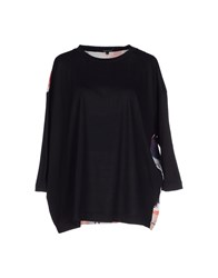 Surface To Air Topwear T Shirts Women Black