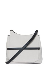 The Row Cross Body Canvas Bag Beige