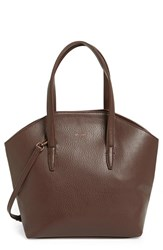 Matt And Nat 'Baxter' Vegan Leather Shopper Brown Cocoa