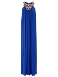 Ariella Tilda Maxi Swing Dress Blue