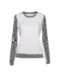 Surface To Air Sweaters White