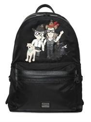 Dolce And Gabbana Designers Animals Nylon Backpack
