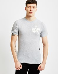 G Star G Star Marsh Raglan T Shirt Grey