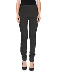 Donna Karan Casual Pants Dark Brown