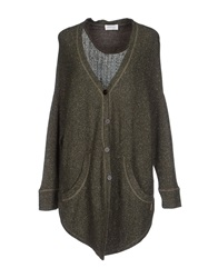 Ottod'ame Cardigans Military Green
