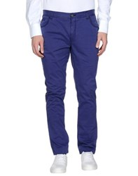 Class Roberto Cavalli Trousers Casual Trousers Men Purple