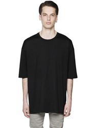 Diesel Black Gold Essential Cotton Jersey T Shirt