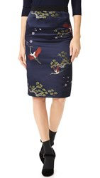Edition10 Embroidered Skirt Pattern