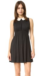 Rachel Pally Bene Two Tone Dress Black Cream