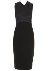 Jason Wu Combo Crepe And Ponte Dress
