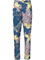 Yigal Azrouel Blooming Stargazer Trousers Blue