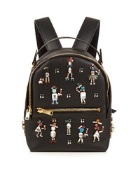 Sophie Hulme Wilson Embellished Mini Leather Backpack