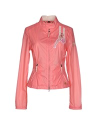 Kejo Coats And Jackets Jackets Women Salmon Pink