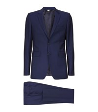 Burberry London Stirling Slim Suit Male Navy