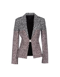 Pinko Black Suits And Jackets Blazers Women Maroon