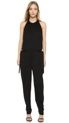 Edun Halter Neck Jumpsuit Black