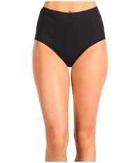 Hanro Cotton Seamless Full Brief 1625 Black Women's Underwear