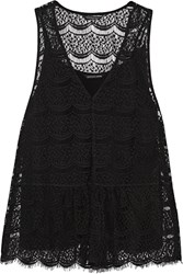 Marissa Webb Addie Lace Tank Black