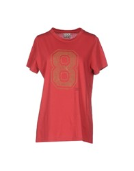 Douuod Topwear T Shirts Women Red