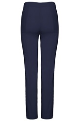James Lakeland Pull On Trousers Navy