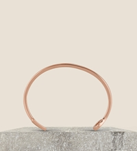 Miansai Fishing Hook Rose Gold Plated Cuff