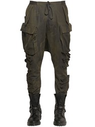 Unravel Multi Pockets Camouflage Cargo Pants
