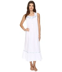Eileen West Sleeveless Ballet Nightgown White Women's Pajama