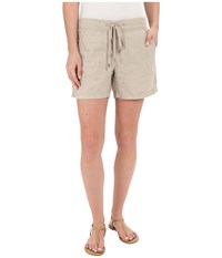 Tommy Bahama Two Palms Drawstring Shorts Natural Women's Shorts Beige