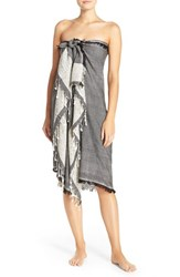 Women's Collection Xiix Beach Wrap Black