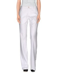 Dirk Bikkembergs Trousers Casual Trousers Women White