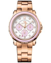 Juicy Couture Women's Hollywood Rose Gold Tone Bracelet Watch 38Mm 1901383